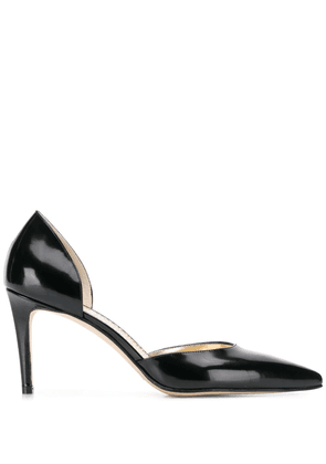 Antonio Barbato cut-out detail pumps - Black