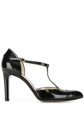 Antonio Barbato T-bar pumps - Black