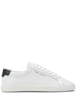 Saint Laurent Andy low-top sneakers - White