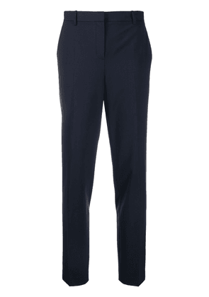 Theory slim-fit tailored trousers - Blue