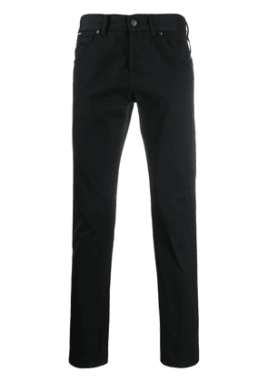 Tom Ford slim-fit cropped jeans - Black