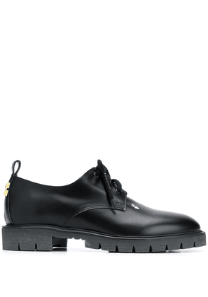 Off-White Derby Arrow shoes - Black