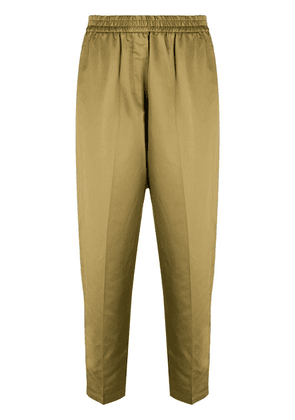 8pm tapered-leg pull-on trousers - Green