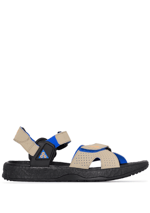Nike Deschutz touch-strap sandals - Black