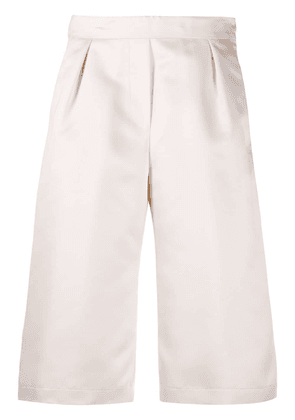 8pm pleated knee-length shorts - Neutrals