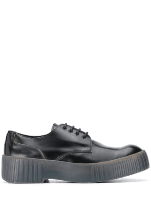 Acne Studios chunky sole derby shoes - Black