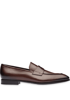 Prada classic penny loafers - Brown