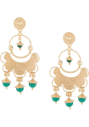 Gas Bijoux Icare drop earrings - GOLD