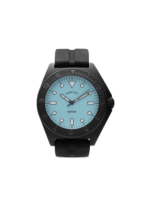 Bamford Watch Department Mayfair Sport 40mm watch - STEELRUBBERSTRAP