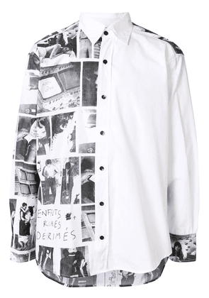 Enfants Riches Déprimés photographic-print shirt - White