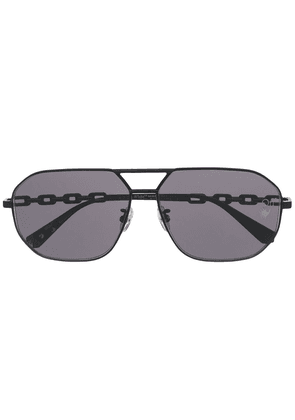 Off-White aviator-frame sunglasses - Black
