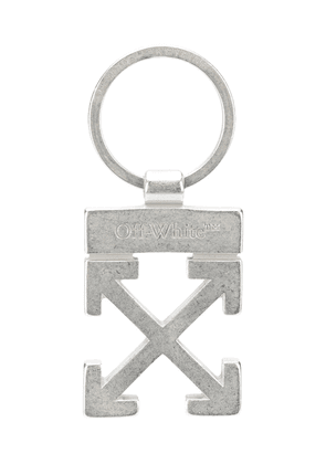 Off-White Arrows keyring - SILVER