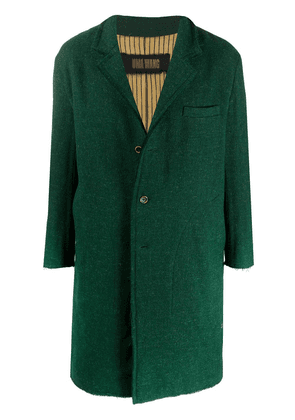 Uma Wang single-breasted coat - Green