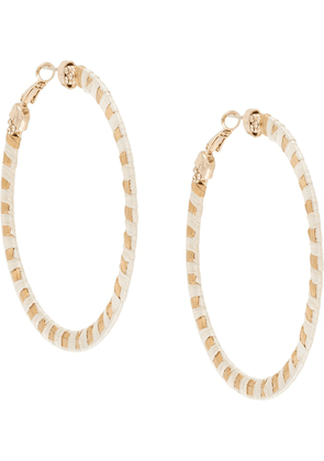 Gas Bijoux Bako hoop earrings - Neutrals