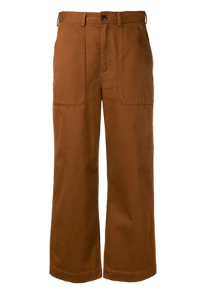 Bellerose cropped tailored trousers - Brown