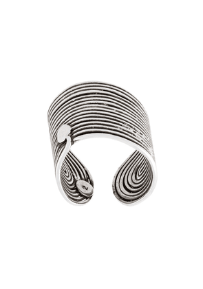 Gas Bijoux Wave ring - Metallic