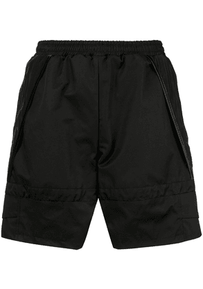 Cottweiler elasticated waist shorts - Black