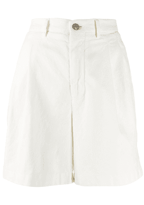 Berwich tailored fitted shorts - White