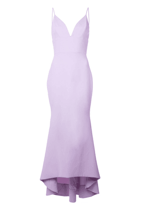 Christian Siriano V-neck dress - Purple