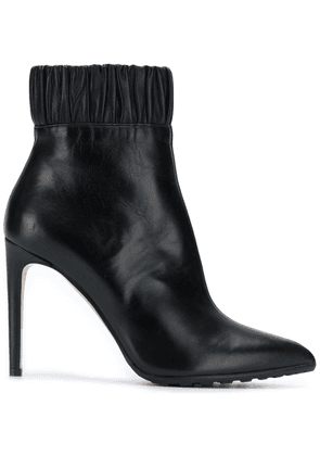 Chloe Gosselin ruched ankle boots - Black