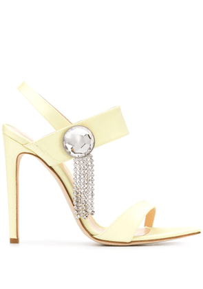 Chloe Gosselin Tori 110mm sandals - Yellow