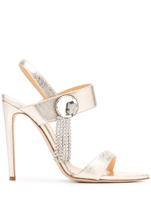 Chloe Gosselin Tori 120mm sandals - Gold