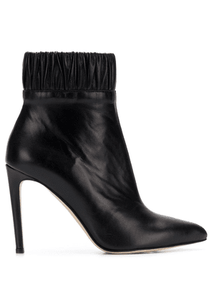 Chloe Gosselin gathered ankle boots - Black