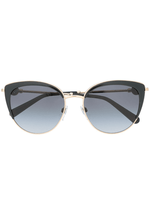 Bvlgari cat-eye tinted sunglasses - Black