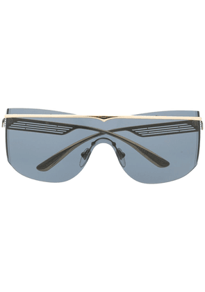 Bvlgari tinted aviator sunglasses - Gold