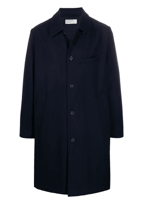Universal Works single-breasted coat - Blue
