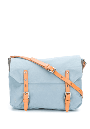 Ally Capellino two-tone messenger bag - Blue