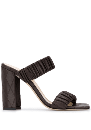 Chloe Gosselin Morgan slip-on sandals - Brown