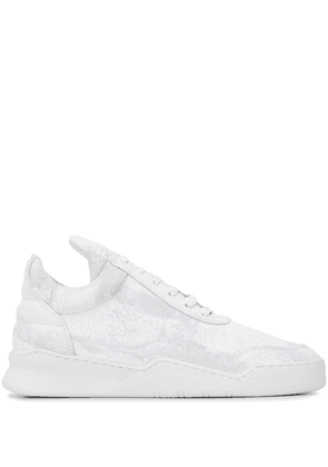 Filling Pieces low-top trainers - White
