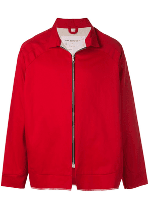 Camiel Fortgens zipped jacket - Red