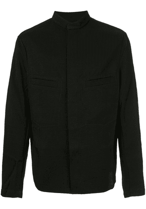 Uma Wang ribbed bomber jacket - Black