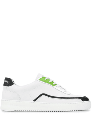 Filling Pieces low-top logo trainers - White