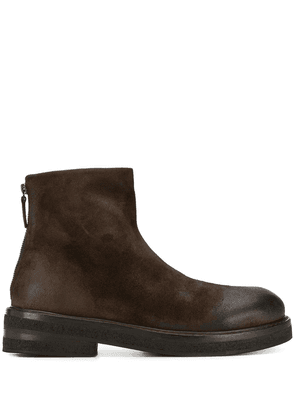 Marsèll round toe ankle boots - Brown