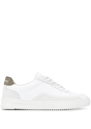 Filling Pieces low-top lace trainers - White