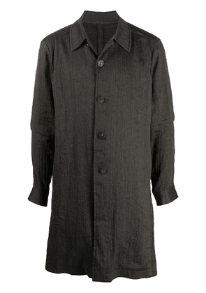 Devoa long-line shirt - Grey