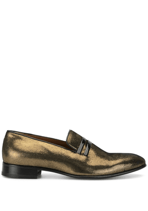 Malone Souliers Miles low heel loafers - GOLD