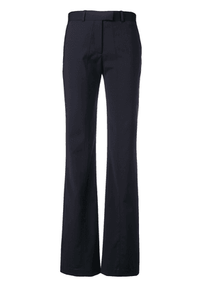 Aalto stitch detail flared trousers - Blue