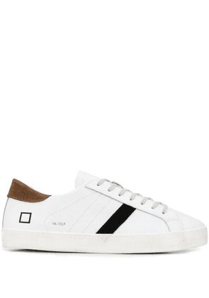D.A.T.E. low-top lace up trainers - White