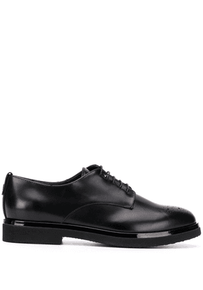 AGL round-toe lace-up brogues - Black