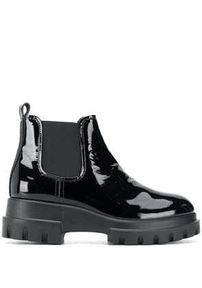 AGL elasticated ankle boots - Black