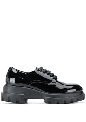 AGL chunky lace-up shoes - Black
