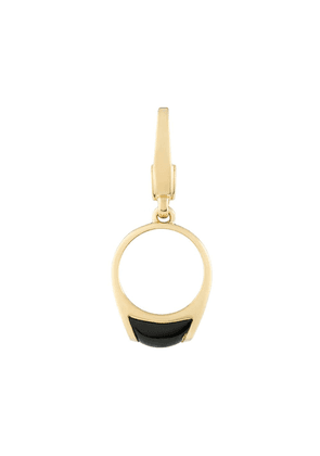 Bvlgari Pre-Owned pre-owned 18kt yellow gold charm pendant