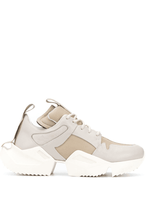 UNRAVEL PROJECT chunky low top sneakers - Neutrals