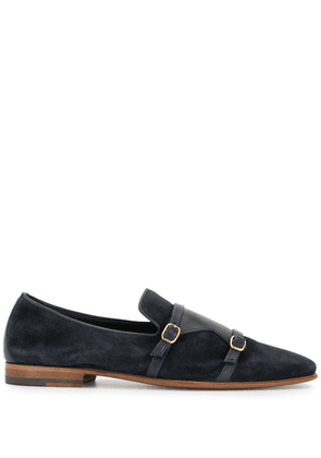 Malone Souliers monk strap shoes - Blue
