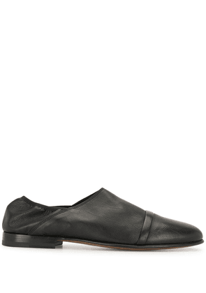 Malone Souliers panelled leather loafers - Black