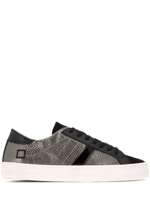 D.A.T.E. Hill low-top sneakers - SILVER